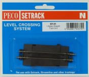 Peco ST21 Straight level crossing add-on